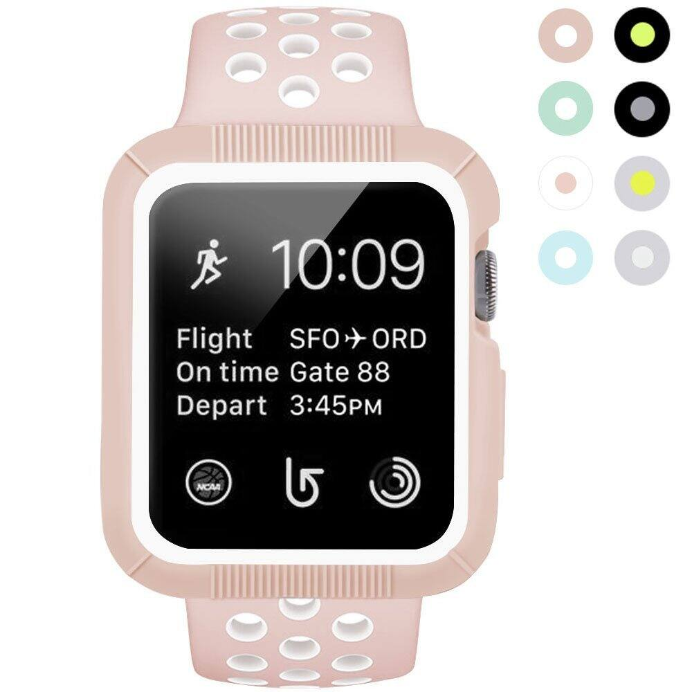 Apple Watch Nike Band with Case, 38mm and 42mm - $5.99