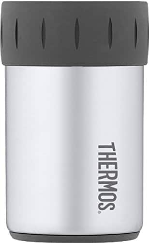Thermos Stainless Steel Beverage Can Insulator for 12 Ounce Can [Stainless Steel, 12 Ounce]Thermos Stainless steel Ve $6.35