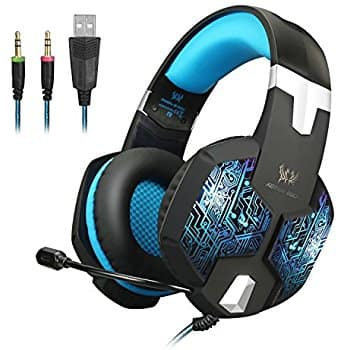 EasySMX Color-Changing Breathing LED Light Wired Gaming Headset PC Headset with Microphone $17.99 + FS