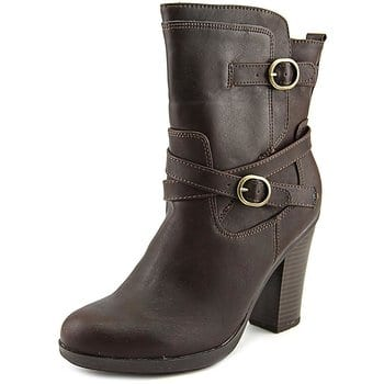 Pricefalls: Style & Co Ameliya ROund Toe Synthethic Ankle Boot $26.99 $36.98