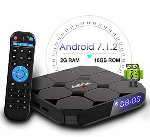 ABOX A1 MAX Android 7.1 TV BOX - $47.99 + FS