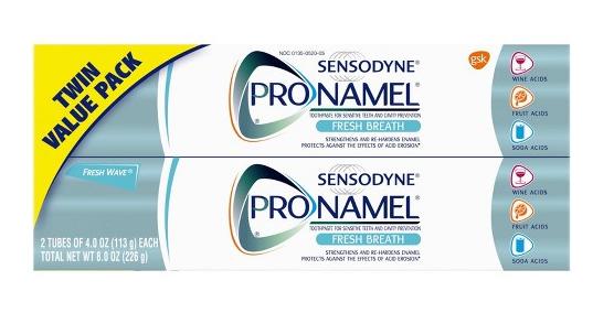 Target: Sensodyne ProNamel Fresh Wave Toothpaste 2ct/4oz - $6.99 after $3 Rebate + Free In-Store Pickup