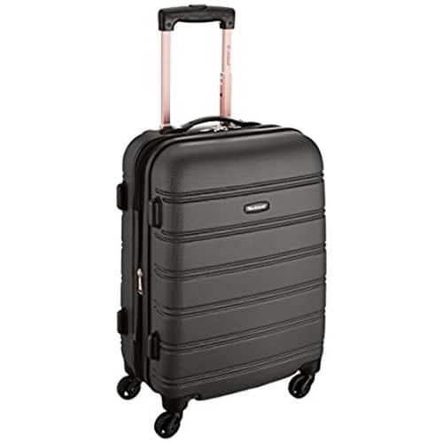 Amazon: Rockland Melbourne 20-Inch Expandable Abs Carry On Luggage (reg. $120) $33.99