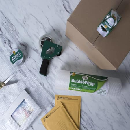 Duck (Tape/Mailers/Bubble Wrap) Products on Sale (Starting from $1.37 + additional savings)