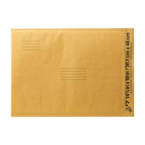 Duck Brand #7 Kraft Bubble Mailer, 14.25 x 19 (50% off + Free shipping) $1.14