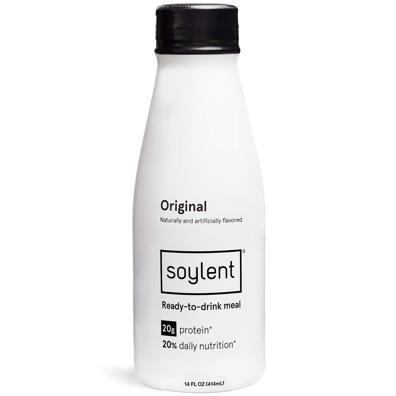 Prime Pantry - Soylent Meal Replacement Drink, Original, 14 oz Bottles, 12 Pack $27.2