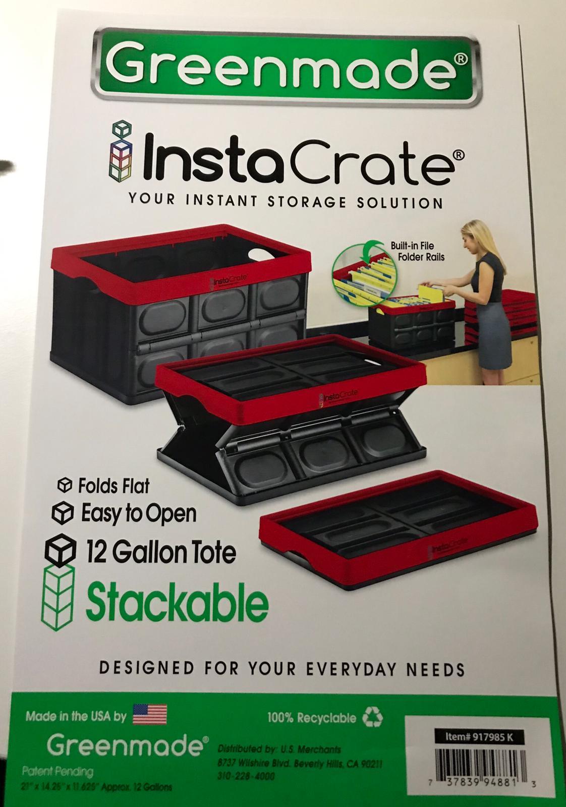 Costco insta crate 12 gallon storage bin for $7.99 - $1.50  Discount =$ 6.50