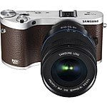 Samsung NX300 Mirrorless Camera with 18-55mm Lens $400