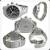 Ashford Deal: Hamilton Men's Khaki Chronograph Watch - Swiss Made with Sapphire Crystal for $199