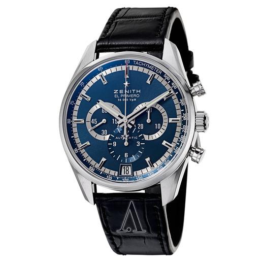 Zenith Men's El Primero 36'000 VPH Automatic Chronograph Watch $3995