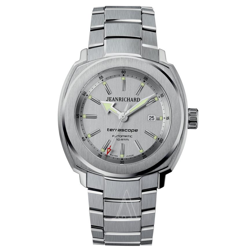 JeanRichard (by Girard-Perregaux) Men's Terrascope Automatic Watch for $799