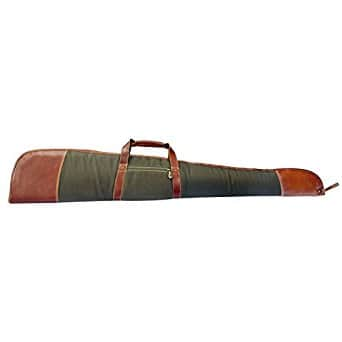 Canyon Outback Coyote Ridge Canyon 53 Inch Rifle Case $37 Full Grain Buffalo Hide Leather/Canvas