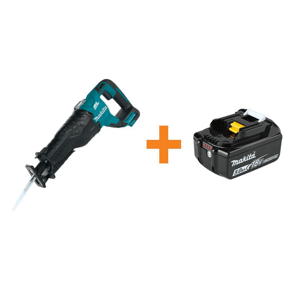 Makita 18v Cordless Tools Free 5ah Battery With Purchase Of Tool Recip Jig Circular Saw Drills Drivers
