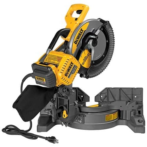 "DEWALT DHS716AB FLEXVOLT 120V MAX 12"" Fixed Miter Saw with Adapter Only $360"