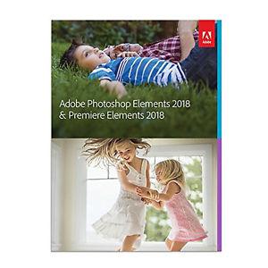 Adobe Photoshop Elements 2018 & Premiere Elements 2018 65281603  $109.99 free shipping