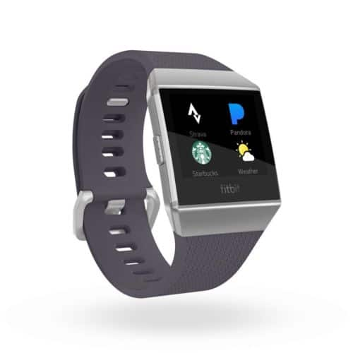 Brand New Sealed Fitbit Ionic Smart Watch - Charcoal Gray  / Silver $239.99 free shipping