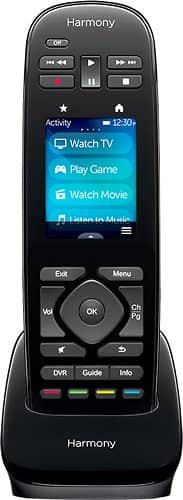 Logitech - Harmony Ultimate One 15-Device Universal Remote - Black $80