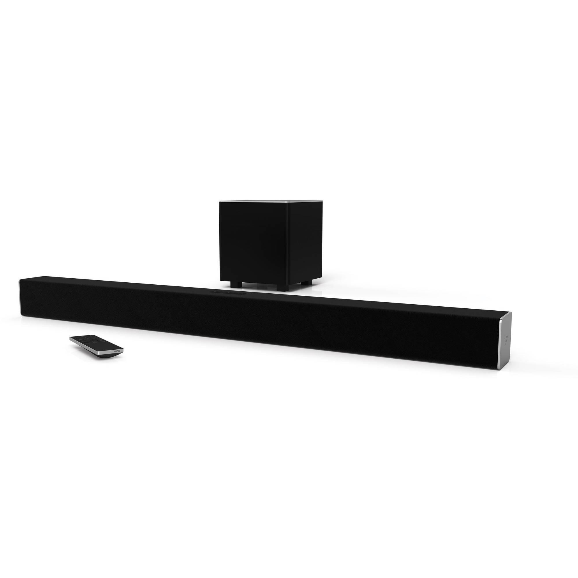 "VIZIO SmartCast SB3821-D6 38"" 2.1 Sound Bar System $99.99"