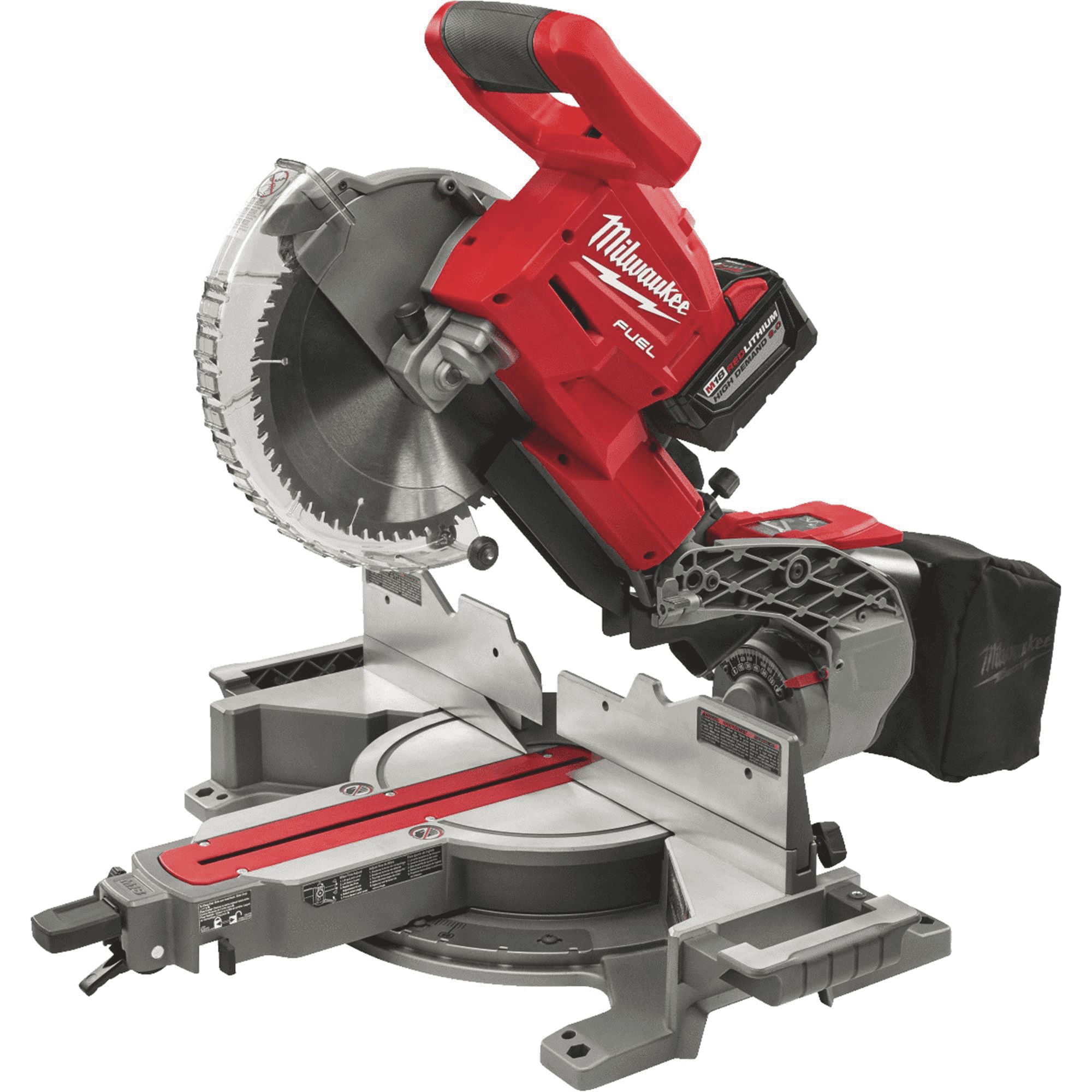Milwaukee 2734-21HD M18 FUEL Dual Bevel Sliding Compound Miter Saw - $458 + tax + Free Shipping