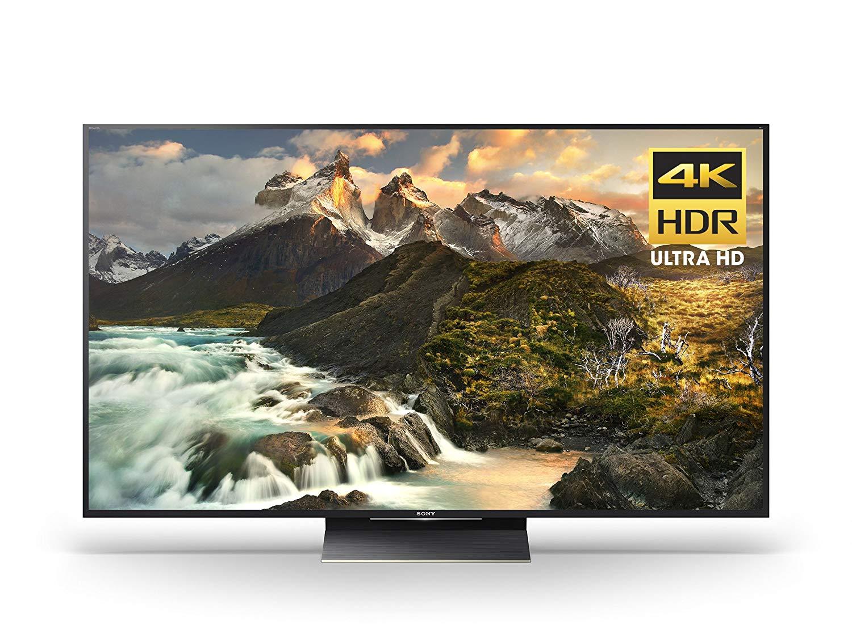 "Sony - Z9D Series - XBR65Z9D 65"" - 4K Ultra HD 3D Smart Active LED TV 2016, Black [TV] $1998"