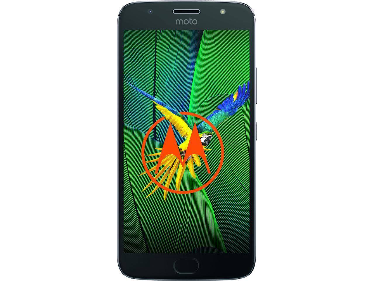 Moto G5s Plus (Special Edition) Unlocked Smartphone Dual Camera 5.5 in. Lunar Gray, 64GB Storage 4GB RAM $259.99 AC Free Shipping
