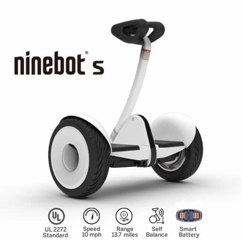 Segway Ninebot S Smart Self-Balancing Electric Transporter White $339.99