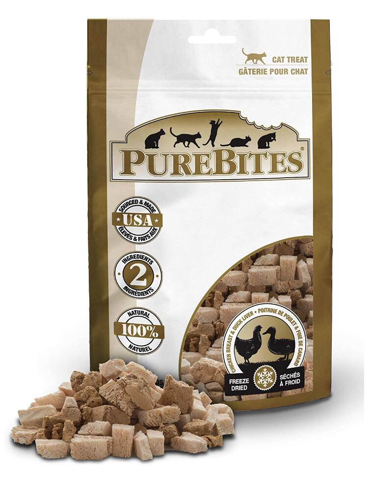 Purebites Chicken Breast & Duck For Cats, 1.12Oz / 32 G- Value Size - $3.49