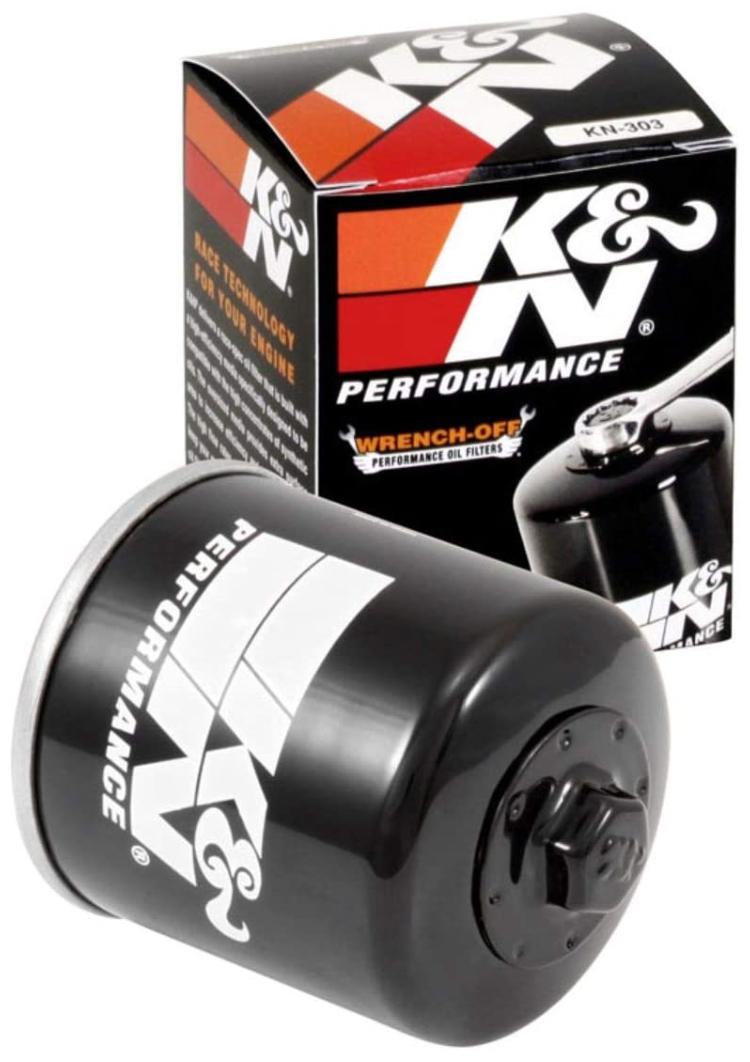 K&N High Performance Motorcycle Oil Filter KN-303 - $10.92