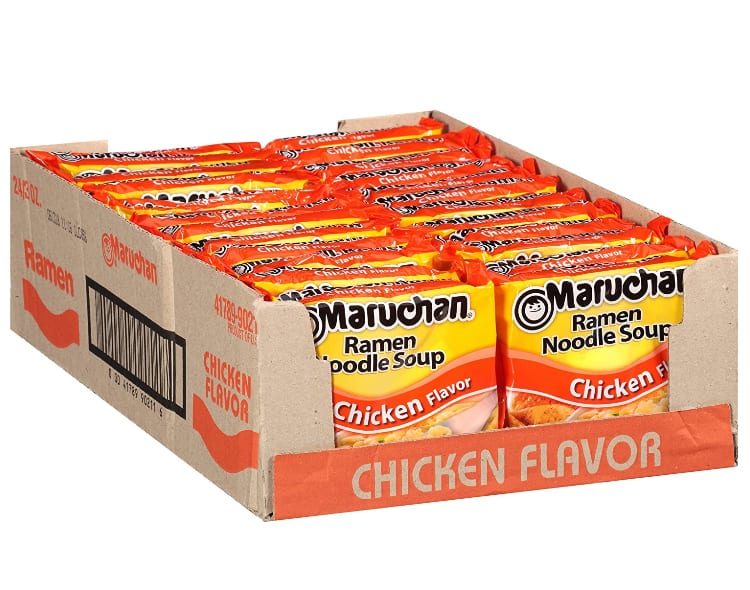 Maruchan Ramen Chicken, 3.0 Oz, Pack of 24 - $5.52