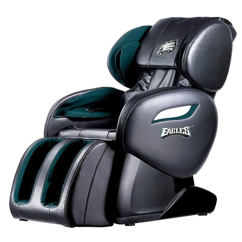 NFL Electric Full Body Shiatsu Massage Chair with Foot Roller $799.99