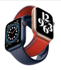 Free watch band with Apple Watch 6 $379 for 40mm $409 for 44mm