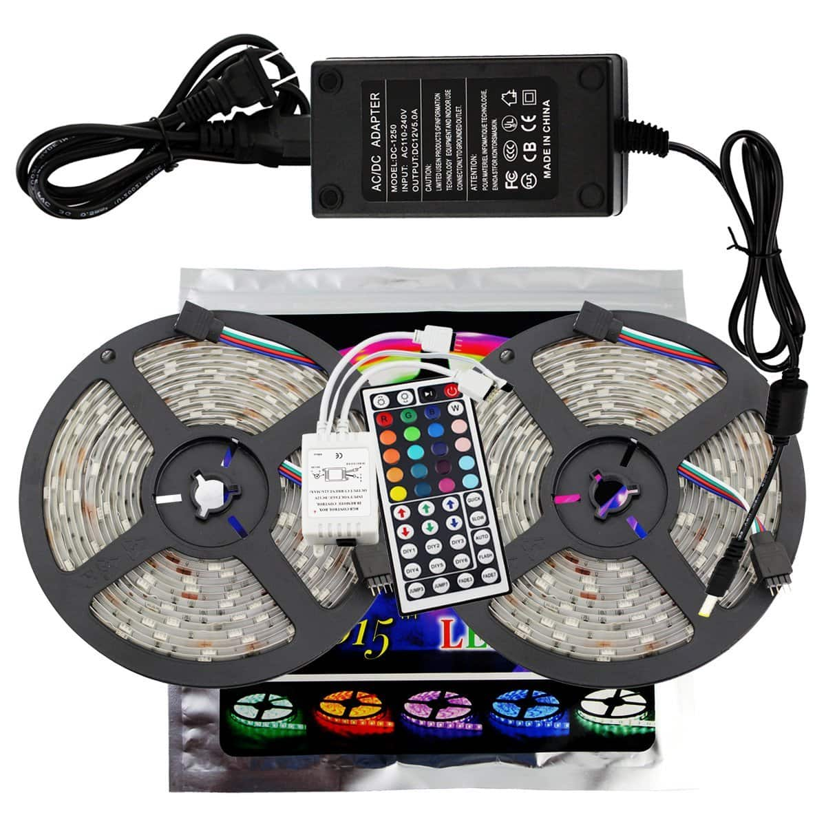Color Changing 5050 SMD Waterproof 300 LEDs Lighting Rope Lights $22.46 AC+FS