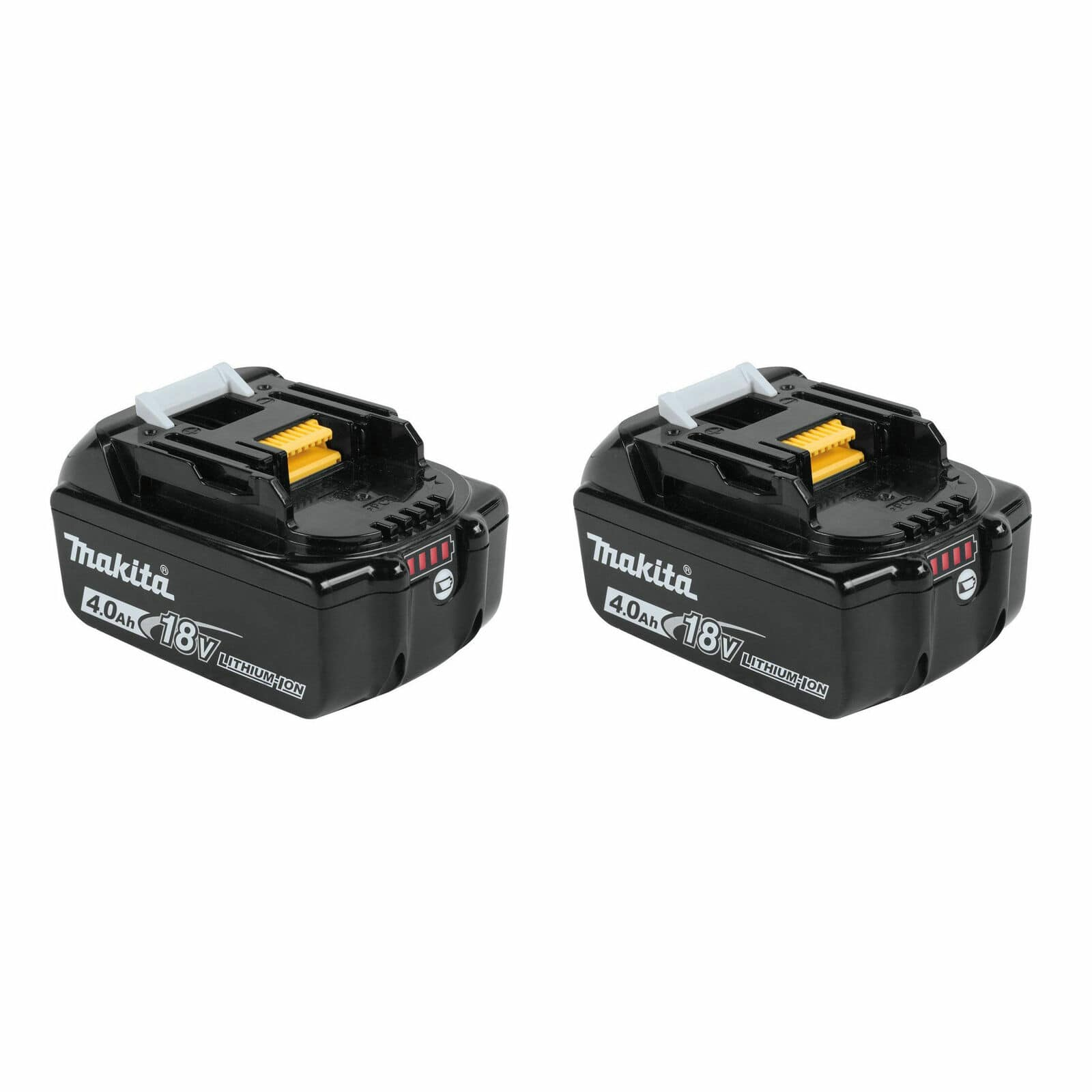 Makita BL1840B-2 18-Volt 4.0Ah LXT Lithium-Ion Battery, 2-Pack $82.99 74.65 YMMV Cheapest Ever