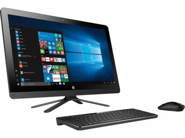 "HP - 23.8"" Touch-Screen All-In-One - Intel Core i3 - 8GB Memory - 1TB Hard Drive - HP finish in black $547.99"