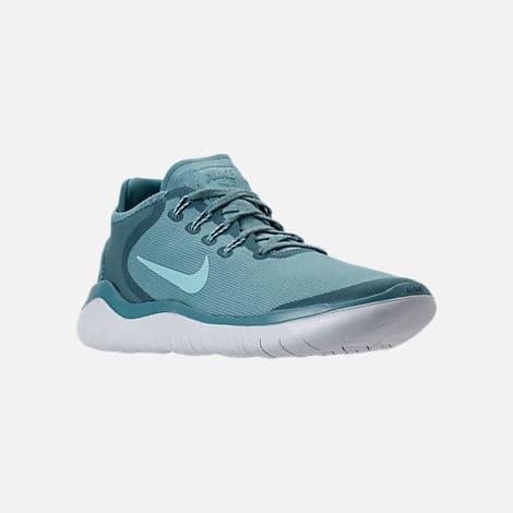 2c2211d78516 Men s Nike Free RN 2018 Sun Running Shoes (Noise Aqua Pure Platinum ...