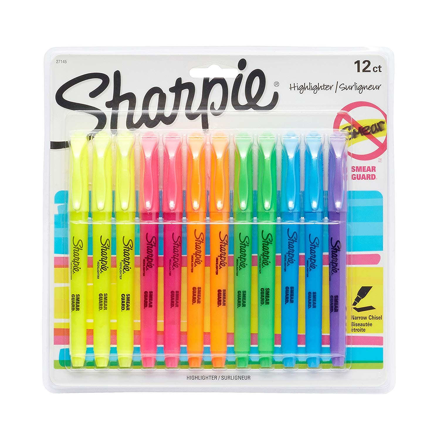 Sharpie 12-Count Assorted Colors Highlighters $4.97