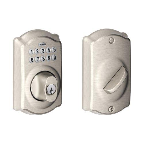 Schlage BE365VCAM619 Camelot Keypad Deadbolt, Satin Nickel $86.43 Amazon.com FSSS