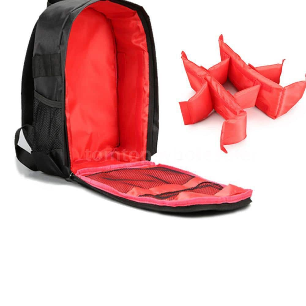 DSLR Camera Backpack Shoulder Bag Compact Photography Waterproof $12.73