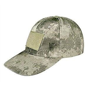 CVLIFE Tactical Cap Plain Hat Operator Patch Adjustable Strap $6.79 @Amazon
