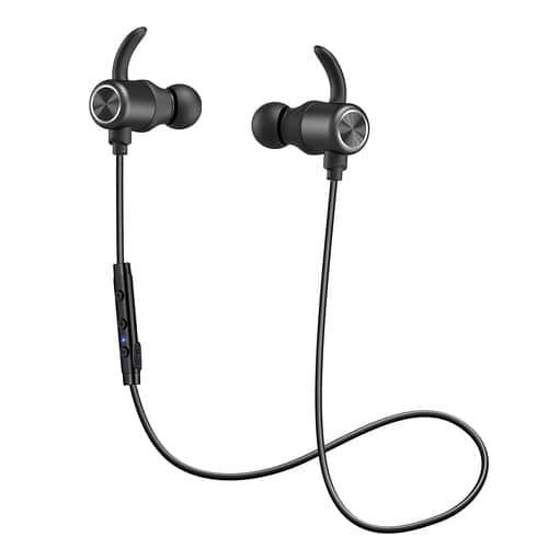 Bluetooth Headphones, ENACFIRE Bluetooth V4.1 Wireless Earbuds aptX Stereo Earphones with Built-in Mic for $14.81 @Amazon