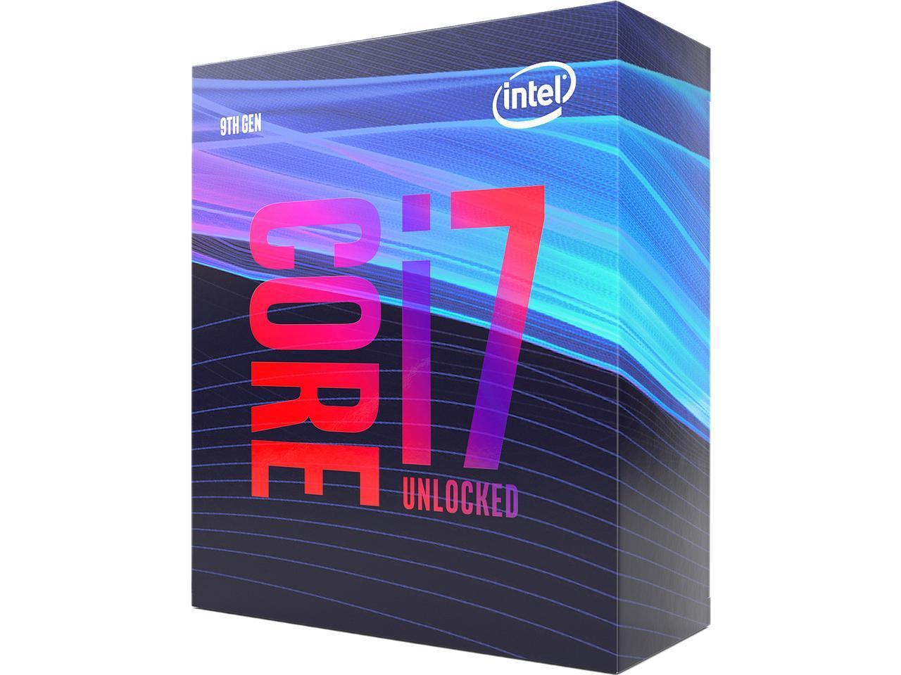 Intel Core i7-9700K (Amazon and Newegg) $349.99. Ends Friday