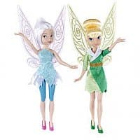 Toys R Us Deal: YMMV: Tinkerbell two-pack of dolls at TRU for $0+tax after GC