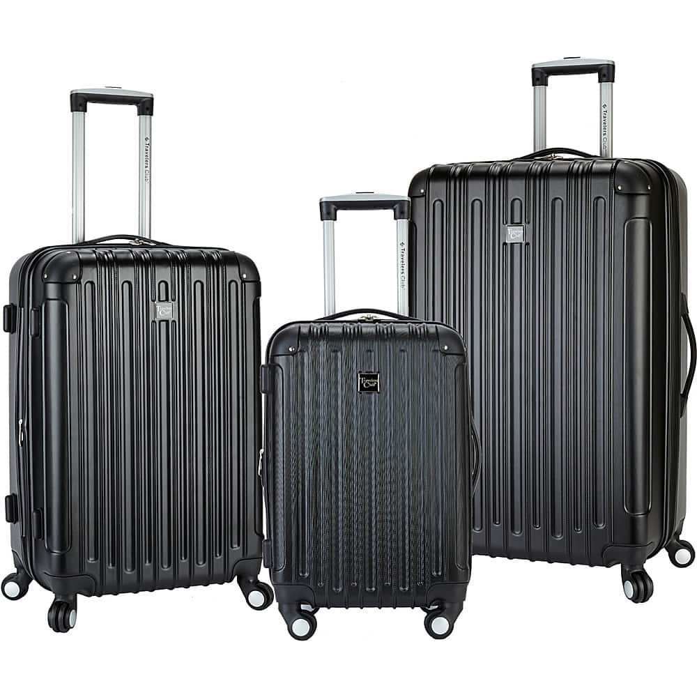 Traveller's Choice Expandable Hard Luggage Set $95