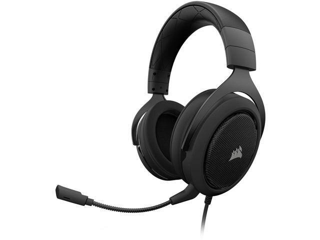Corsair HS60 7.1 Virtual Surround Sound Gaming Headset w/ USB DAC $40