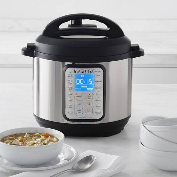 Instant Pot Duo Plus60 9-in-1 Multi-Use Programmable Pressure Cooker, 6QT $79.95