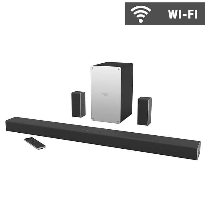 "Vizio SB3651-E6 36""  5.1 Channel SmartCast Soundbar System [2017 model] $179.99"