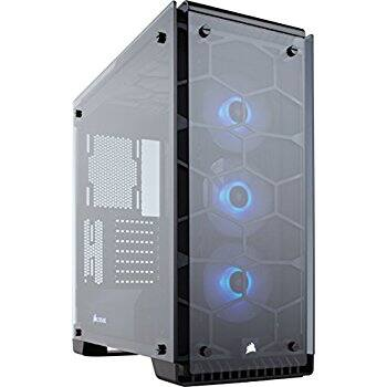 Corsair Crystal Series 570X RGB - Tempered Glass, Premium ATX Mid-Tower Case - $139.99 at Amazon