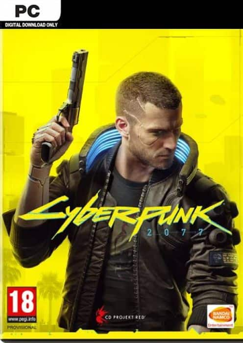 Cyberpunk 2077 (PC digital download) - $34 at CDKeys