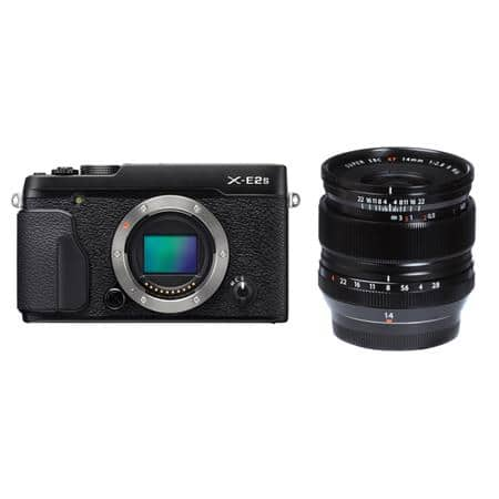 Fuji X-E2S + XF 14mm w/Grip $999