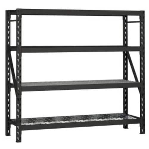 Husky 77 in. W x 78 in. H x 24 in. D Steel Garage Storage Shelving Unit $149 @ Home Depot with Free Pickup